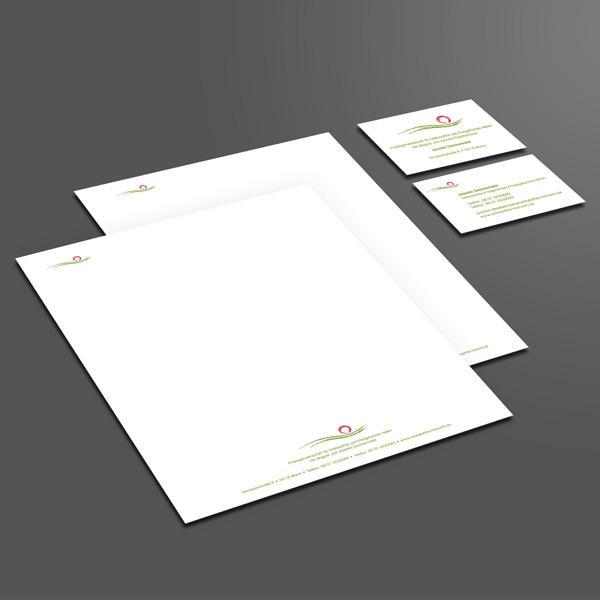 Osteopathie Mainzcity – Gestaltung Geschäftspapiere