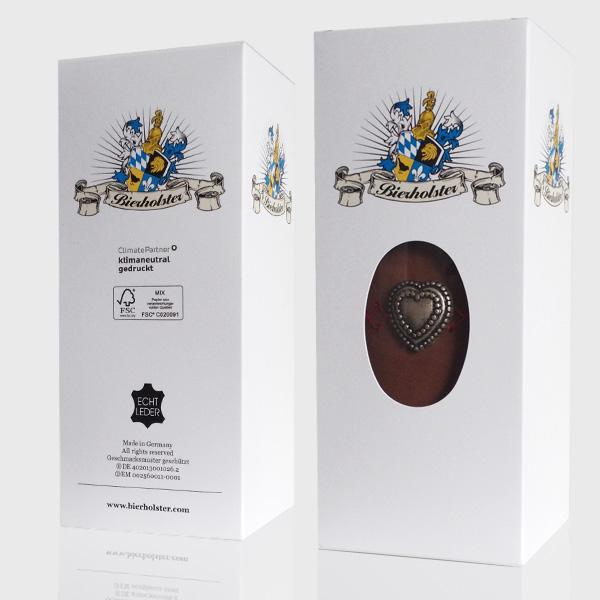 Packaging Design München, Gestaltung und Produktion von Bierholster-Verpackung – Referenz von su-pr-design