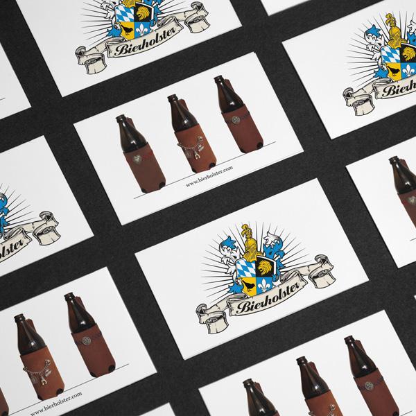 Referenz von su-pr-design: Bierholster – Gestaltung und Druck von Flyern