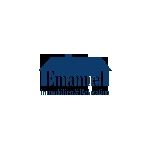 Logo-Design München für Emanuel Immobilien – Referenz von su-pr-design