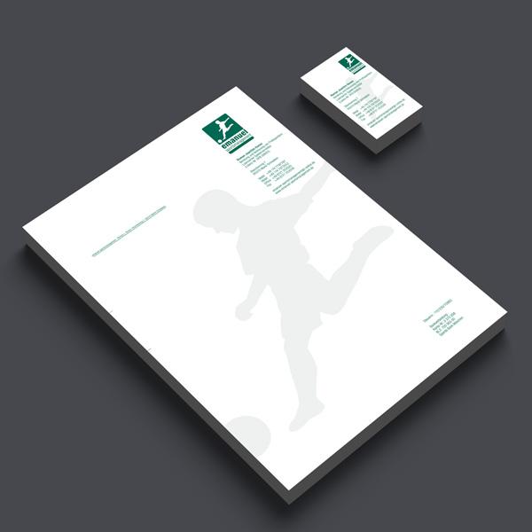 Referenz von su-pr-design: Emanuel Sportsmanagement – Gestaltung und Druck von Visitenkarten und Briefpapier
