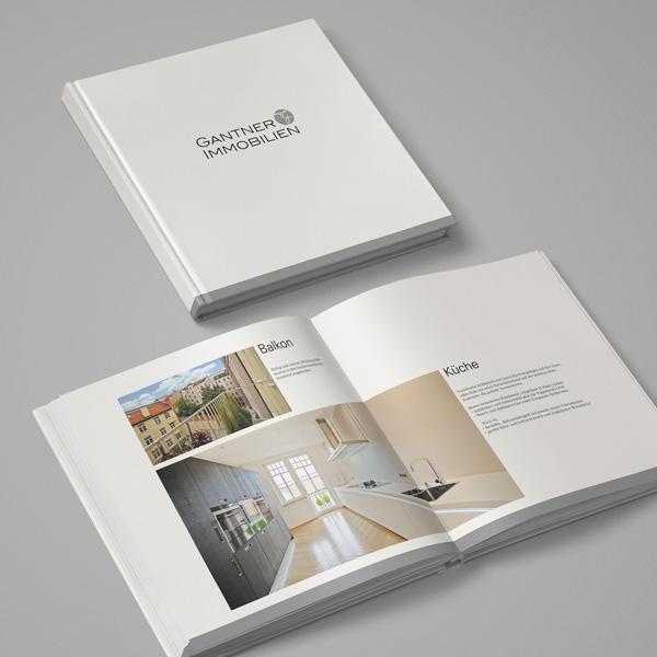 Gestaltung Exposé für Gantner Immobilien – Referenz von su-pr-design