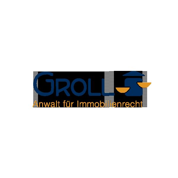Referenz von su-pr-design: Anwalt für Immobilienrecht Groll – Re-Design Logo