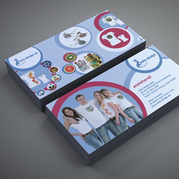 Grafikdesign, Gestaltung Flyer für neko Mainz – Referenz von su-pr-design