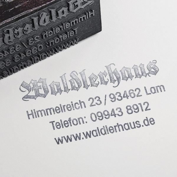 Waldlerhaus Lam Stempel